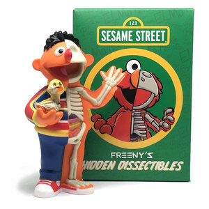 Mighty Jaxx Hidden Dissectables (Sesame Street) Blind Box Series by Jason Freeny