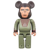 400%  Bearbrick - Cornelius (Planet of the Apes)