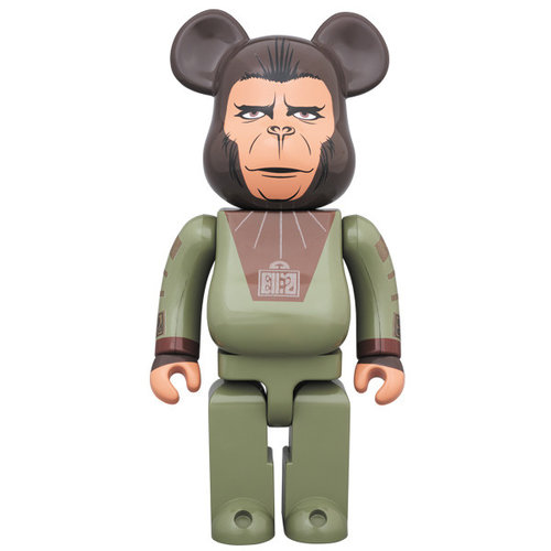 Medicom Toys 400%  Bearbrick - Cornelius (Planet of the Apes)