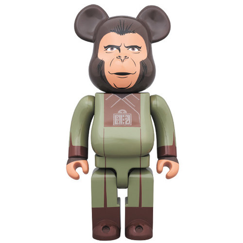 Medicom Toys 400%  Bearbrick - Zira (Planet of the Apes)