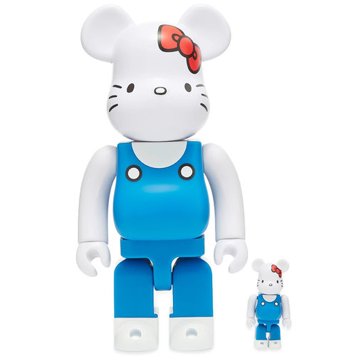 Medicom Toys 400% & 100% Bearbrick set - Hello Kitty (70's Generation)