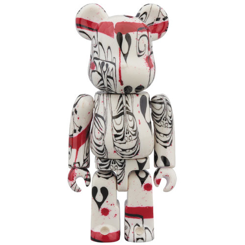 Medicom Toys 400% & 100% Bearbrick set - Phil Frost (Version 2019)