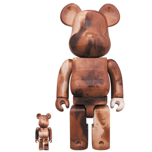 Medicom Toys 400% & 100% Bearbrick set - Pushead (Volume 4)