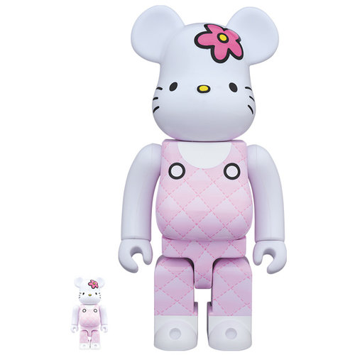 Medicom Toys 400% & 100% Bearbrick set - Hello Kitty (90's Generation)