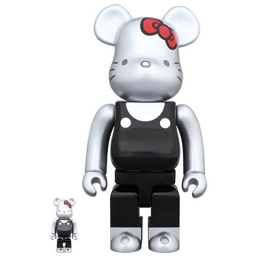 Medicom Toys 400% & 100% Bearbrick set - Hello Kitty (00's Generation)