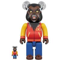 [PO] 400% & 100% Bearbrick set - Michael Jackson Werewolf (Thriller)