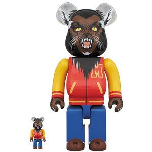 Medicom Toys [PO] 400% & 100% Bearbrick set - Michael Jackson Werewolf (Thriller)