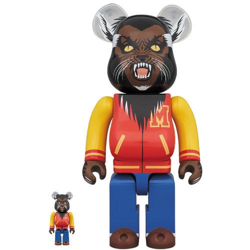 Medicom Toys 400% & 100% Bearbrick set - Michael Jackson Werewolf (Thriller)