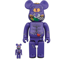 400% & 100% Bearbrick set - Horn Head (Madballs)