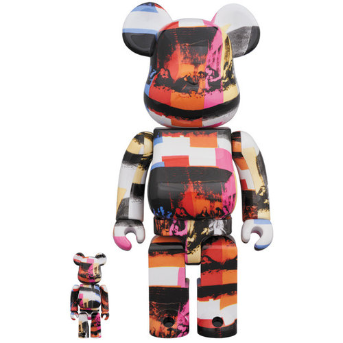 Medicom Toys [PO] 400% & 100% Bearbrick set - Andy Warhol (Last Supper)