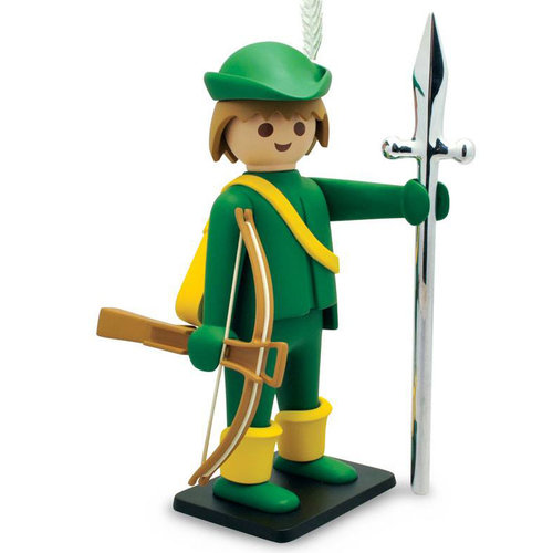 Plastoy Green Archer Statue by Playmobil