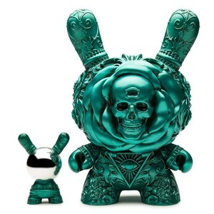 "Kidrobot 8"" The Clairvoyant Dunny (Teal) by J*Ryu"
