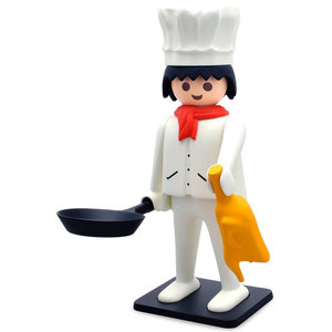 Plastoy Chef Statue by Playmobil