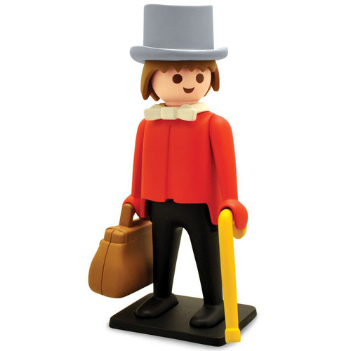 Plastoy Banker Statue by Playmobil