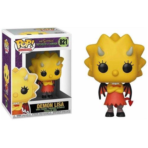 Funko Demon Lisa (Simpsons - THOH) #821 - POP! TV