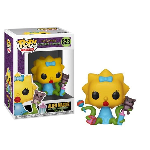 Funko Alien Maggie (Simpsons - THOH) #823 - POP! TV