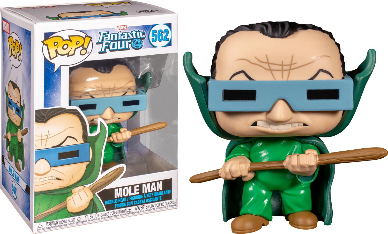Funko Mole Man n°562 Marvel Fantastic Four Pop