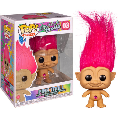 Funko Pink Troll (Good Luck Trolls) #03 - POP! Trolls
