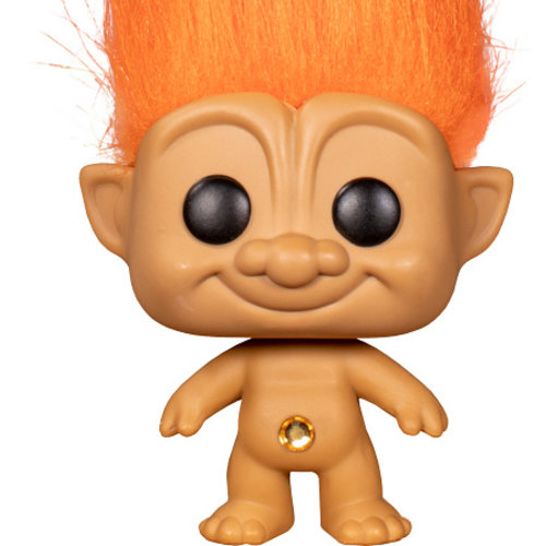 Funko Orange Troll (Good Luck Trolls) #04 - POP! Trolls