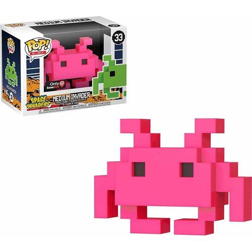 Funko Pink Space Invader - #033 - POP! 8-Bit