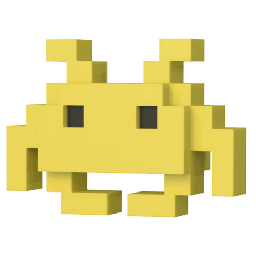 Funko Yellow Space Invader - #033 - POP! 8-Bit