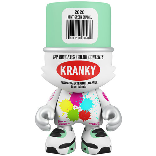Superplastic Mint Green Enamel Kranky (Mintyfresh Exclusive) by Sket One