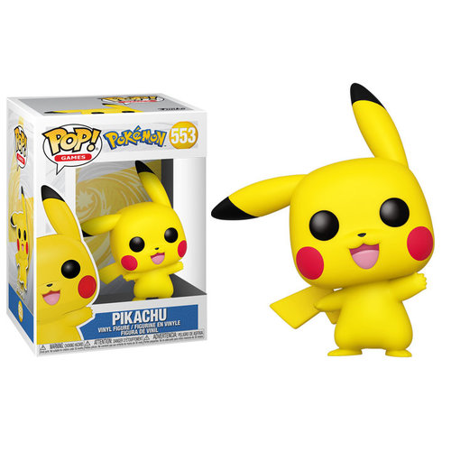 Funko Pikachu (Pokemon) #553 - POP! Games