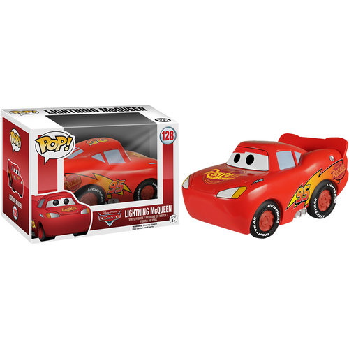 Funko Lightning McQueen #128 (Cars) POP! Disney
