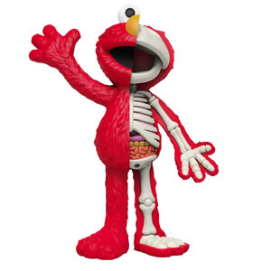 Mighty Jaxx Elmo (Sesame Street) Hidden Dissectables by Jason Freeny