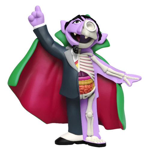 Mighty Jaxx Count von Count (Sesame Street) Hidden Dissectables by Jason Freeny