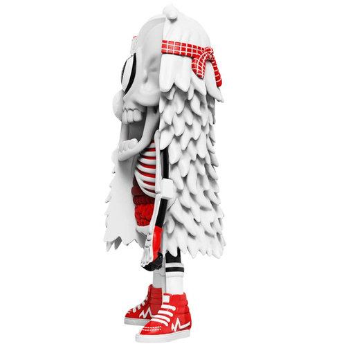 Mighty Jaxx Dissected Mister HellYeah (White) by MAMAFAKA x Jason Freeny