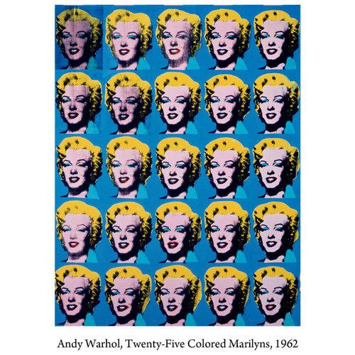 Medicom Toys [PRE-ORDER] 1000% Bearbrick - Andy Warhol (Marilyn Monroe)