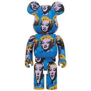 Medicom Toys [PO] 1000% Bearbrick - Andy Warhol (Marilyn Monroe)