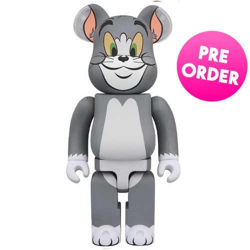 Medicom Toys [PO] 1000% Bearbrick - Tom (Tom &  Jerry)
