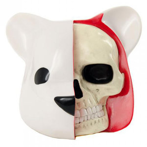 Clutter Studios Dissected Bear Head (White) by Luke Chueh