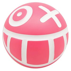 Medicom Toys Mr. A Ball (Large - Pink) by André Saraiva