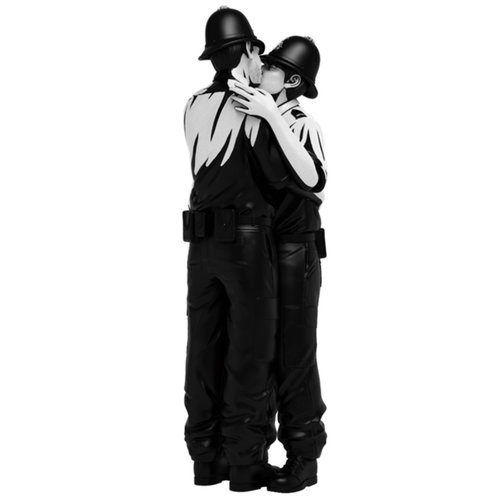 Mighty Jaxx [Pre-Order] Kissing Coppers by Brandalised x Banksy