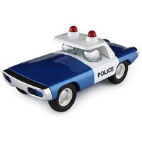 Maverick Heat - Voiture De Police (Blue)