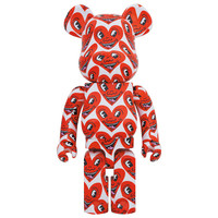 1000% Bearbrick - Keith Haring v6 (Heart Face)