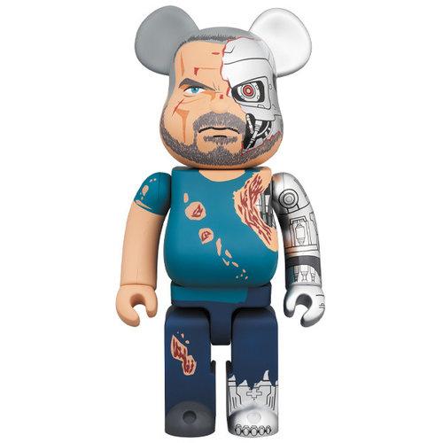 Medicom Toys 400% Bearbrick - T-800 (Terminator Dark Fate)