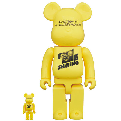 Medicom Toys 400% & 100% Bearbrick set - The Shining Poster