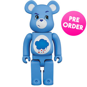 Medicom Toys [PO] 1000% Bearbrick - Grumpy Bear (Care Bears)