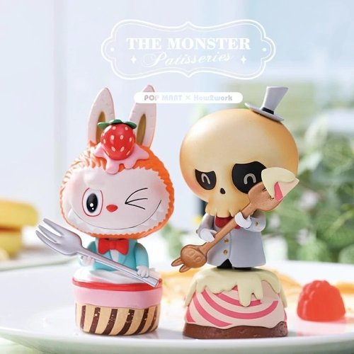 Pop Mart Labubu - Monster Patisseries Series by How2Work