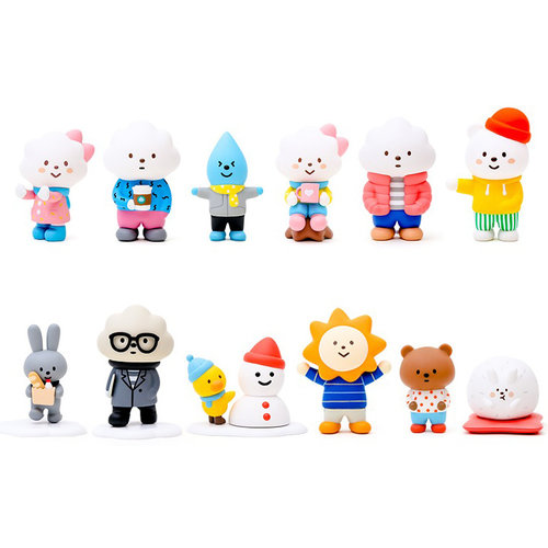 Pop Mart Mr. White Cloud - Winter Series by Fluffy House
