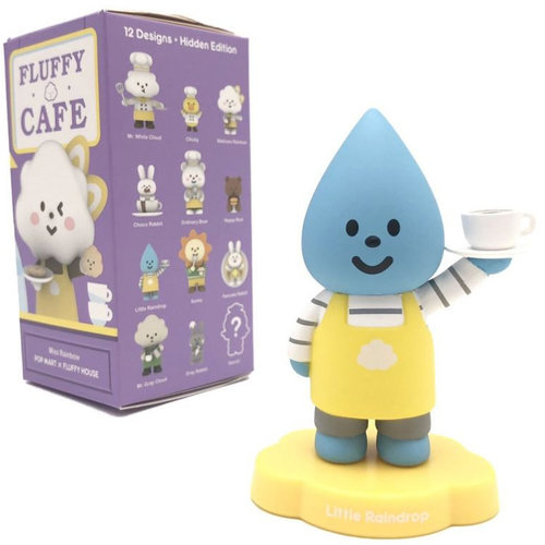 Pop Mart Mr. White Cloud - Fluffy Cafe Series by Fluffy House