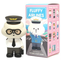 Mr. White Cloud - Fluffy Airlines Series by Fluffy House