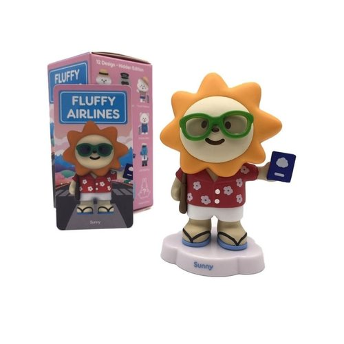 Pop Mart Mr. White Cloud - Fluffy Airlines Series by Fluffy House