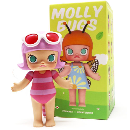 Pop Mart Molly - Bugs Series by Kenny Wong
