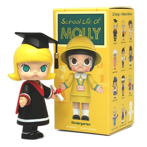 Pop Mart Molly - School Life Series by Kenny Wong