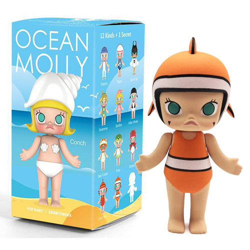 Pop Mart Molly - Ocean Series by Kenny Wong